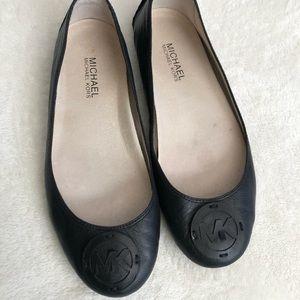 Michael Kors leather ballet slipper